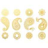 Gold Luster, Paisley
