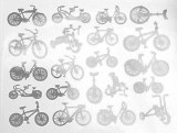 Bike Decals White