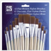 Brush Nylon Set of 12