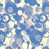 Circles Rice Paper Decal 14x18