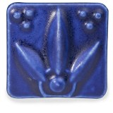 Dark Blue Satin Matte
