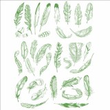 Decal, Rice Paper 84 Green