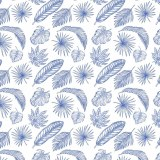Decal, Rice Paper 91 Blue