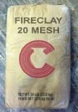 Fireclay, 20 Mesh/Ap Green Sub