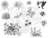 Flowers 2 Silk Screen