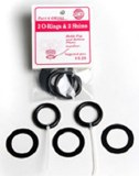 Giffin Grip, O-Rings & Shims
