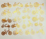 Copper Luster Decal, Bikes