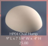 Hump Mold Oval Small