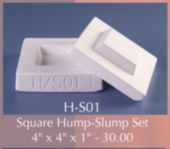 Hump Slump Mold Combo Square