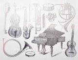 Instruments Decals WhiteDISC