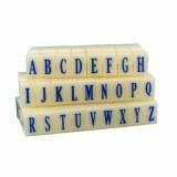 Letter Stamps Set, 1.3cm