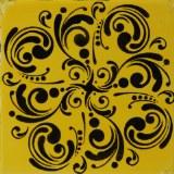 Mayco Curlicues Stencil