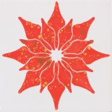 Mayco Large Poinsettia Stencil