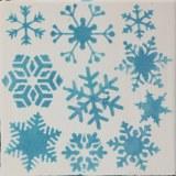 Mayco Snowflakes Stencil