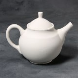 Stoneware Bisque Teapot