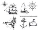 Nautical Silk Screen
