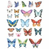 Overglaze Decal-Butterfly
