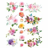 Overglaze Decal-Flower