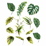 Overglaze Decal-Palm Leaf