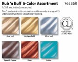 Rub N Buff Assortment Set of 6
