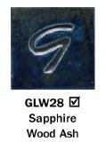 Sapphire Wood Ash Pint