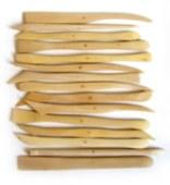 Wood Clay Knife Set