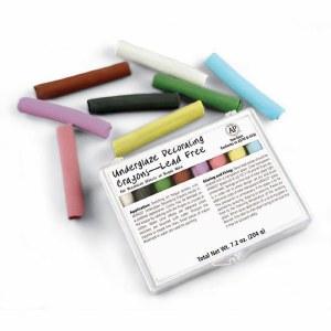 Underglaze Chalk Crayon Set209