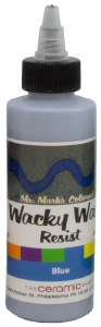 Wacky Wax Resist, Blue, 4 oz