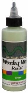 Wacky Wax  Resist, Green, 4 oz