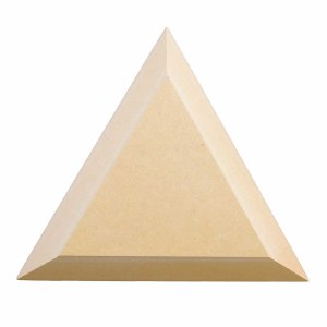 "Wood Triangle 6.5"" Equilateral"