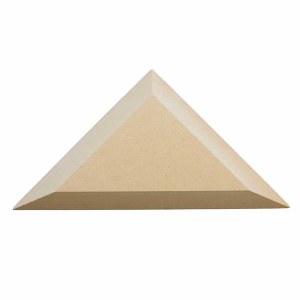 "Wood Triangle 8"" Corner"
