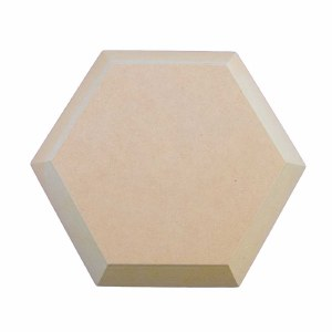 Wooden Hexagon Form 9.5