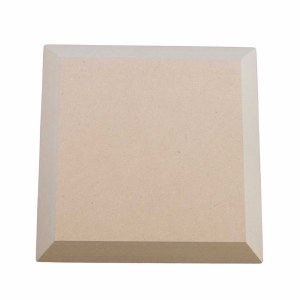 """Wooden Square Form 3.5"""""""