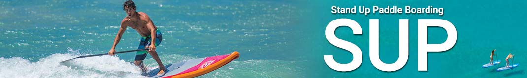 Try stand up paddleboarding and SUP for fantastic fun and health.