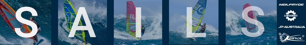 Get stacked with sails from top brands like sailworks and neil pryde
