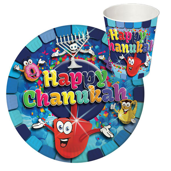 Chanukah Paper Goods