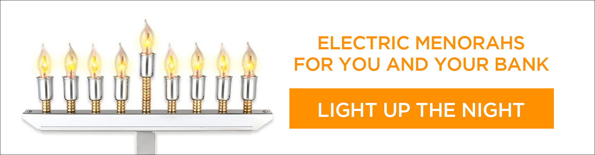 Shop Electric Menorahs