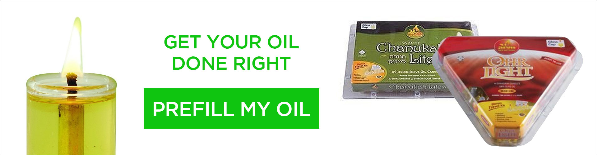 Shop Prefilled Oil