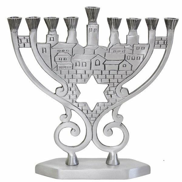 Jerusalem & Israel Menorahs