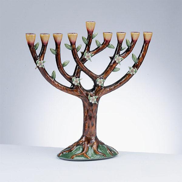 Tree of Life Menorahs