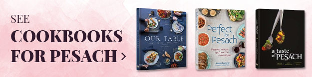 Cookbooks for Pesach