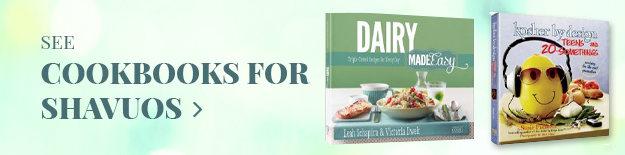 Cookbooks for Shavuos