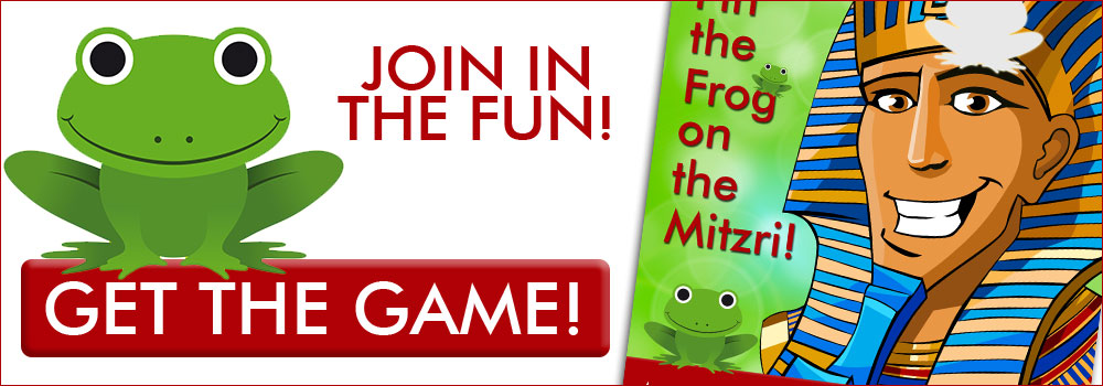 Get the Game! Pin the Frog on the Mitzri!