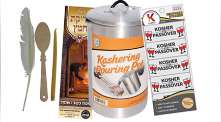 Pesach Cleaning & Kashering