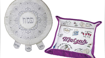 Matzah Holders & Matzah Covers