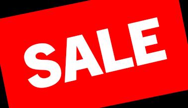 Shop Sales!