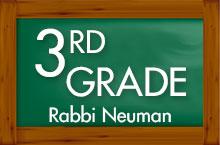 Yeshiva Ahavas Torah 3rd Grade