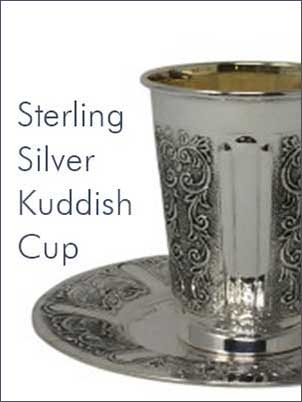 Sterling Silver Kiddush Cups