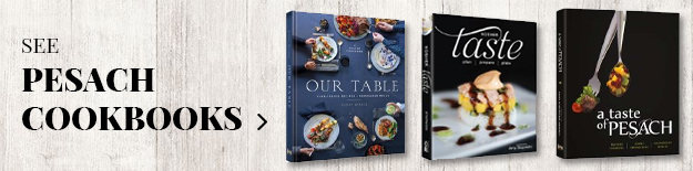 Pesach Cookbooks