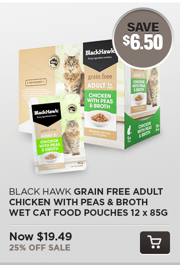 Black Hawk Grain Free Pouches